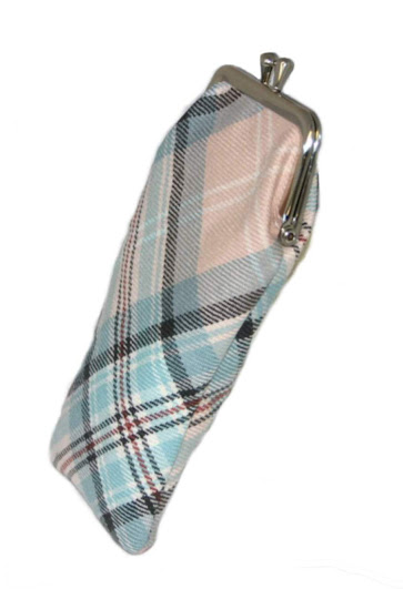 Diana Memorial Rose Tartan Glasses Case
