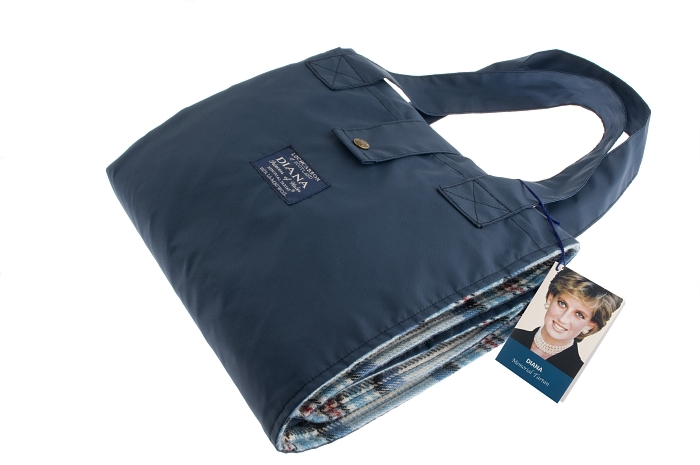 Diana Memorial Tartan Waterproof Backed Picnic Blanket